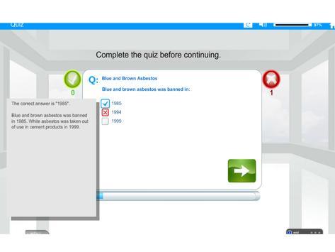 Welfare Reform Act e-Learning screenshot 8