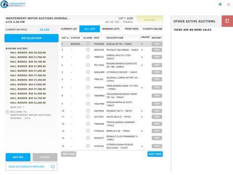 IMA LiveBid apk screenshot
