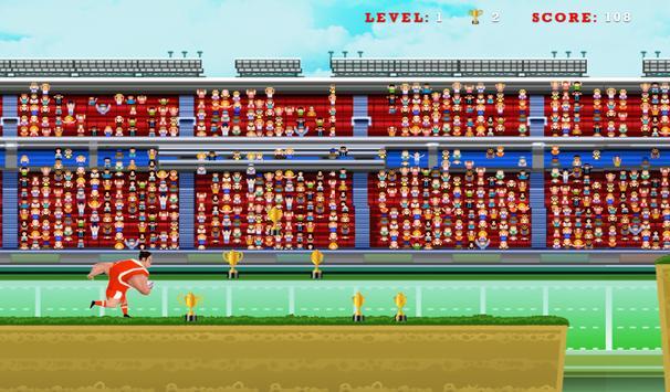 Rugby Run apk screenshot