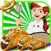 Meat Making Games Mexican Taco icon