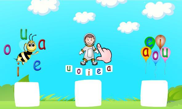 Vogais e Figuras AEIOU Jardim apk screenshot