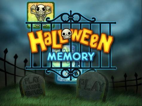 Halloween Memory for Kids poster