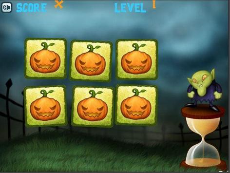 Halloween Memory for Kids screenshot 1