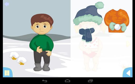 Seasons for children screenshot 4