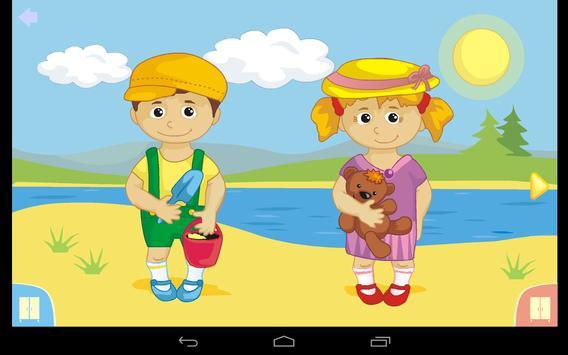 Seasons for children screenshot 1