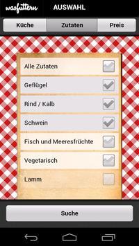 Was futtern (free) screenshot 1