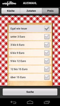 Was futtern (free) screenshot 2