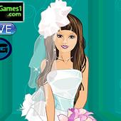 Fashion Girl Wedding Dress up icon
