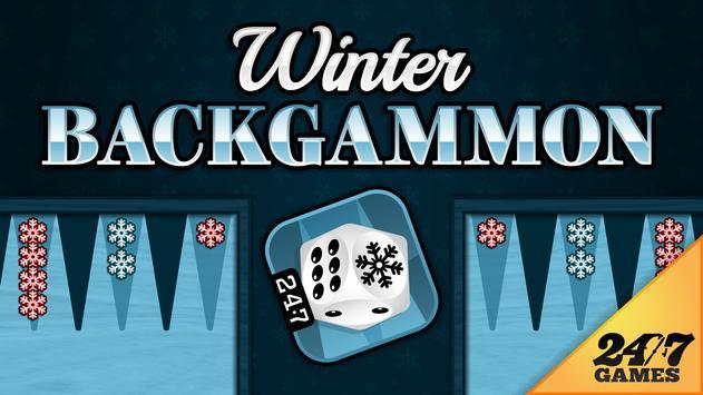 Winter Backgammon poster
