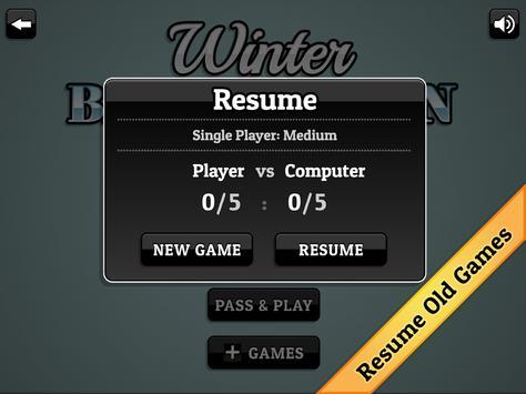 Winter Backgammon screenshot 14
