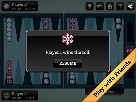 Winter Backgammon screenshot 12