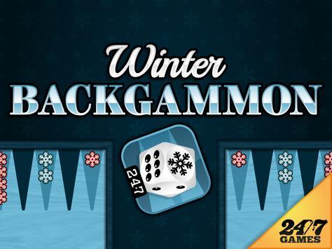 Winter Backgammon screenshot 5