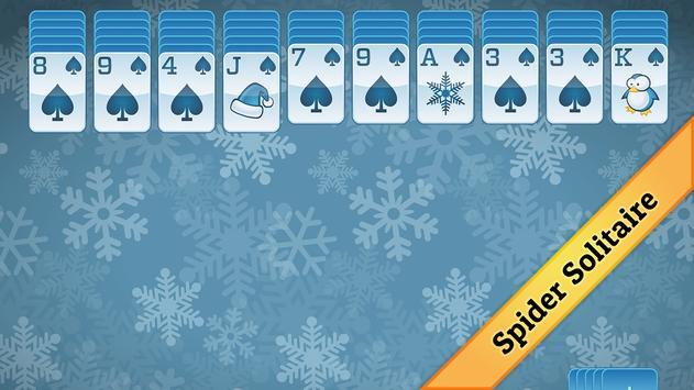 Winter Solitaire screenshot 2