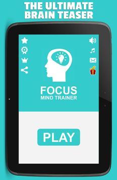 Focus: Mind Trainer poster