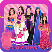WORLD FASHION TRIP - GIRL GAME icon