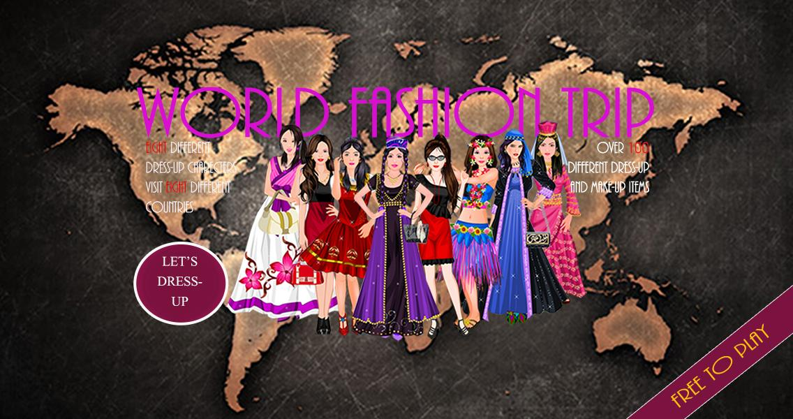 World Fashion Trip Girl Game For Android Apk Download