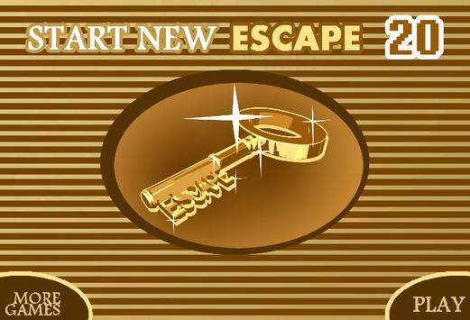 START NEW ESCAPE 020 poster