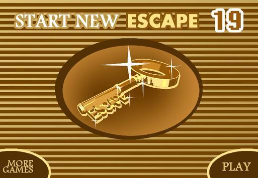 START NEW ESCAPE 019 poster
