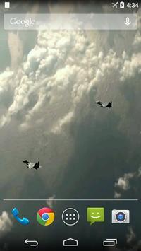 Aircraft Video Live Wallpaper apk screenshot