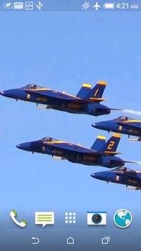 Aircraft 3D Video LWP screenshot 5
