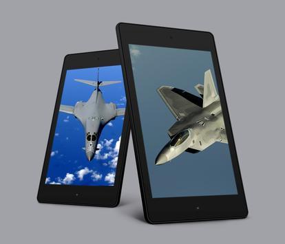Aircraft Sky Live Wallpaper screenshot 2