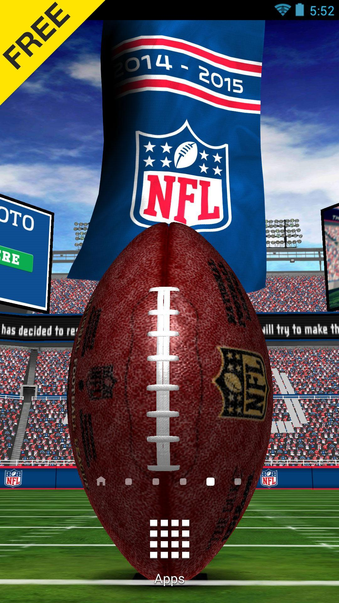 Nfl 2015 Live Wallpaper For Android Apk Download
