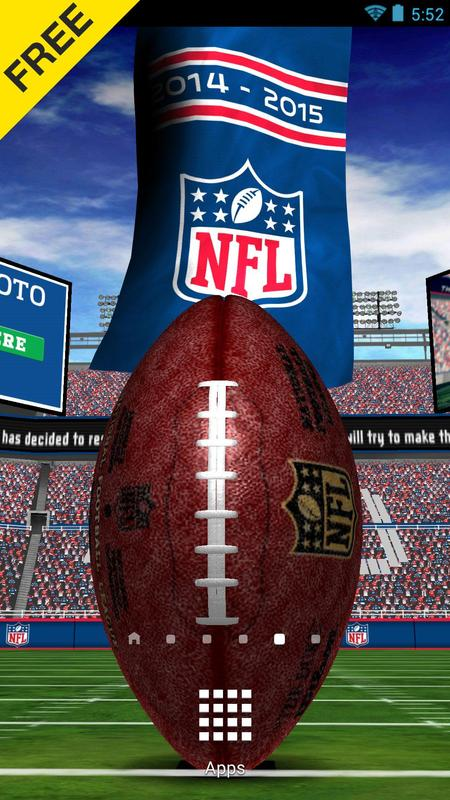 NFL 2015 Live Wallpaper poster NFL 2015 Live Wallpaper screenshot 1 ...