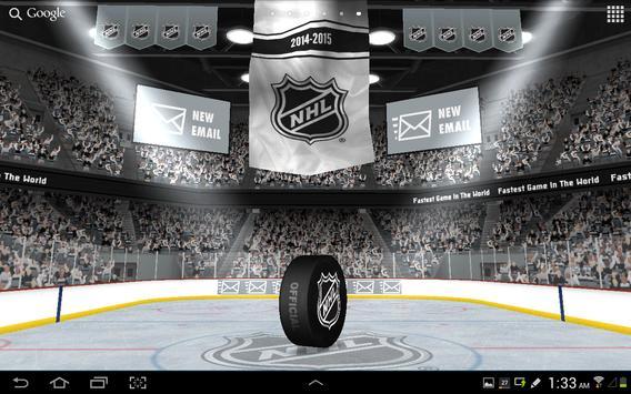 NHL 2015 Live Wallpaper Poster
