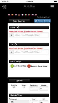 Airport Taxis App apk screenshot