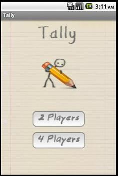 Tally poster