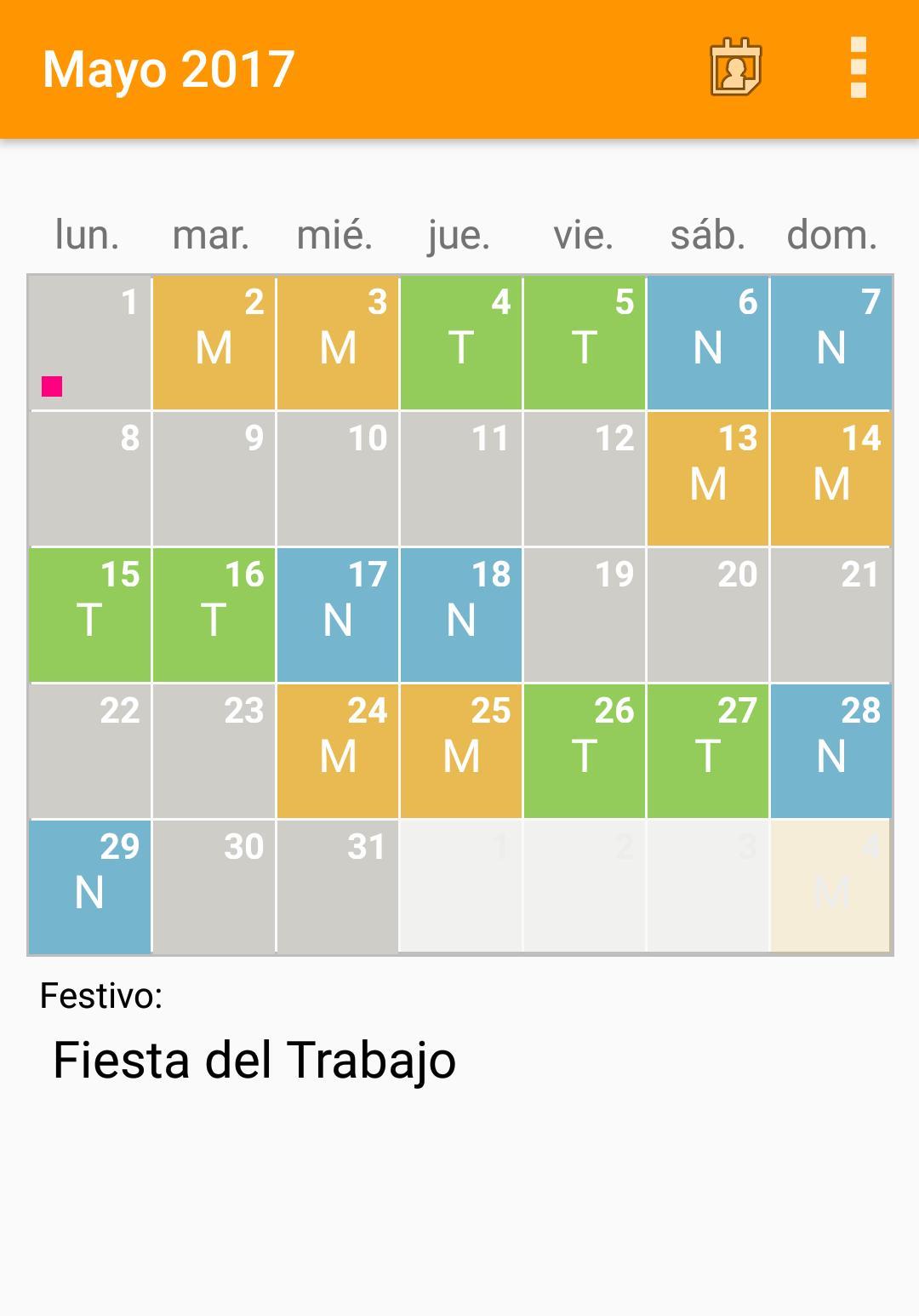 Calendario Turnos.Calendario Turnos For Android Apk Download
