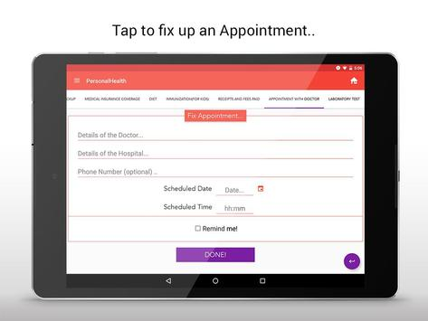 personal health record apk screenshot