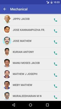 AJCE Staff Contacts apk screenshot