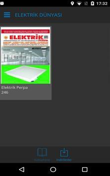 Elektrik Dünyası Dergisi apk screenshot