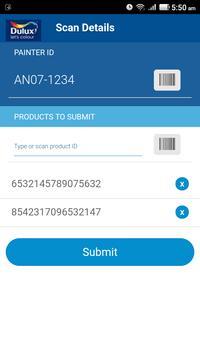 Dulux Retailer-Scanning App apk screenshot