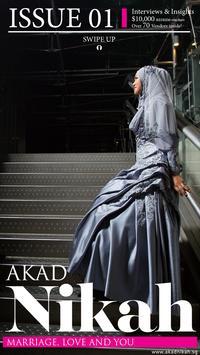 Akad Nikah Magazine App poster