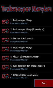Trabzonspor Marşları 2018 apk screenshot