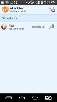 AkerClient Mobile apk screenshot