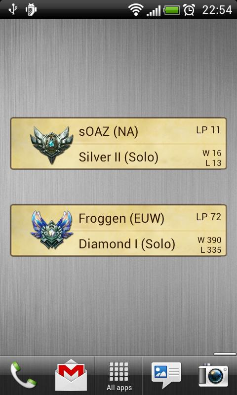 LoL Ranking League of Legends for Android - APK Download