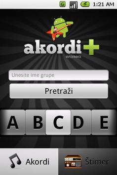 Akordi+ poster