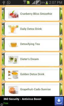 Detox Juice Recipes screenshot 1
