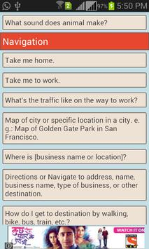 Voice Commands Guide screenshot 2