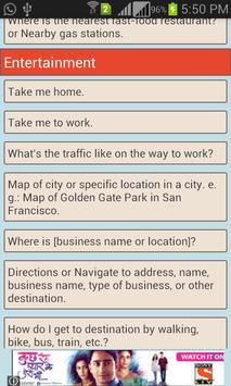 Voice Commands Guide screenshot 3