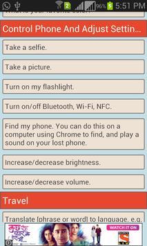 Voice Commands Guide screenshot 5