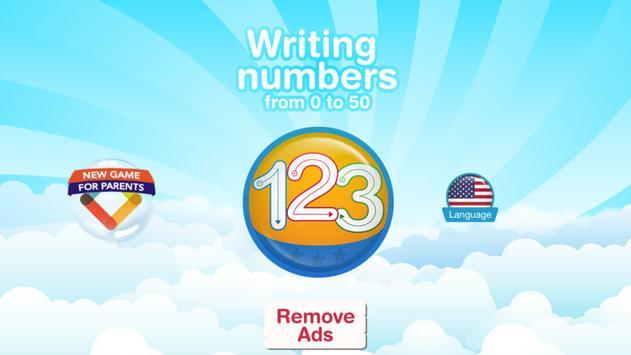Write Numbers: Tracing 123 apk screenshot