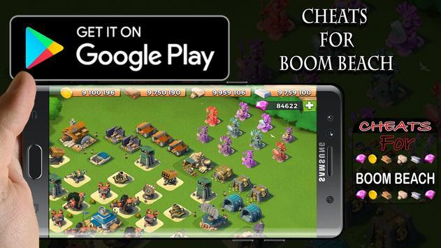 Cheat For Boom Beach The PRANK apk screenshot