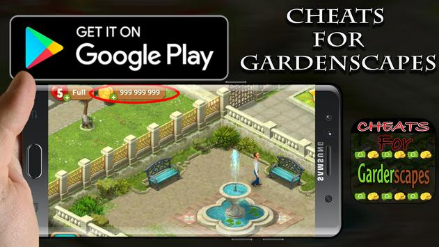 Cheats Gardenscapes New -Prank poster