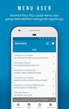 368 Mobile screenshot 1