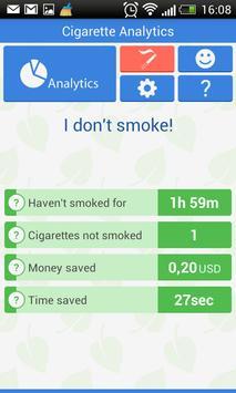 Cigarette Analytics screenshot 2