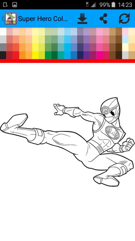 Super Hero Coloring Book for Android - APK Download